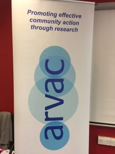 The ARVAC banner